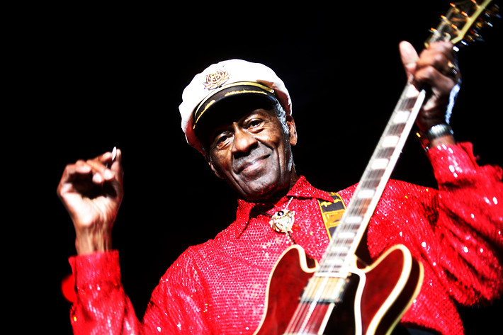 2007-01-26 - Chuck Berry performs at Lisebergshallen, Göteborg