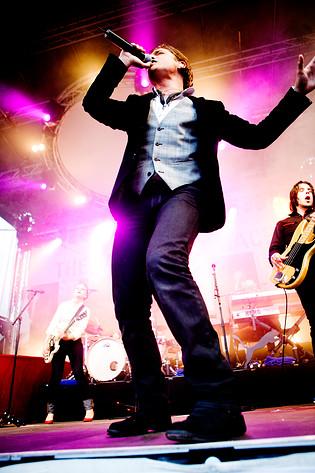 2007-07-29 - Andreas Johnson spelar på Skeppsbron, Stockholm