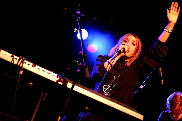 2007-12-01 - Lykke Li spelar på Chalmers, Göteborg