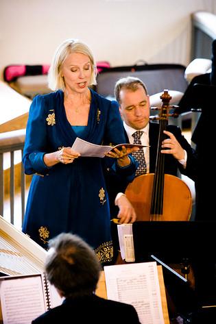 2008-06-25 - Anne Sofie Von Otter performs at Västra Karups kyrka, Båstad