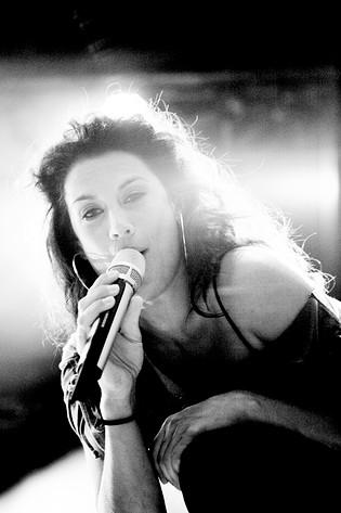 2008-07-24 - Jill Johnson spelar på Piteå Dansar och Ler, Piteå