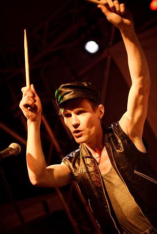 2008-08-22 - Kite performs at Malmöfestivalen, Malmö
