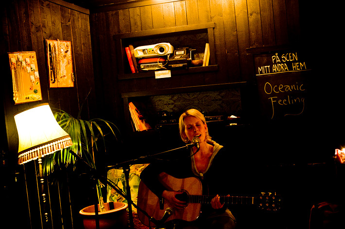 2008-11-05 - Oceanic Feeling spelar på Mitt Andra Hem, Göteborg