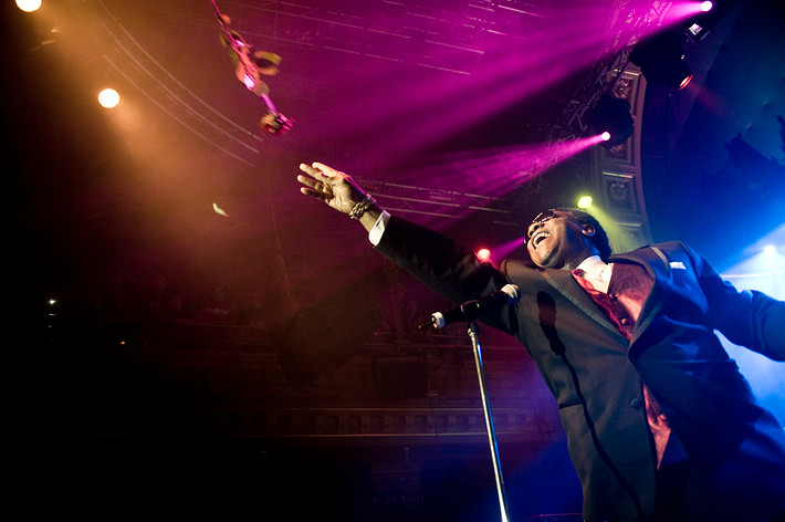 2008-11-08 - Al Green performs at Berns, Stockholm