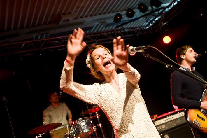 2009-05-02 - Anna Järvinen performs at Popadelica, Huskvarna