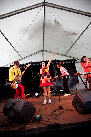 2009-07-10 - Lisa Bouiver spelar på Hultsfredsfestivalen, Hultsfred