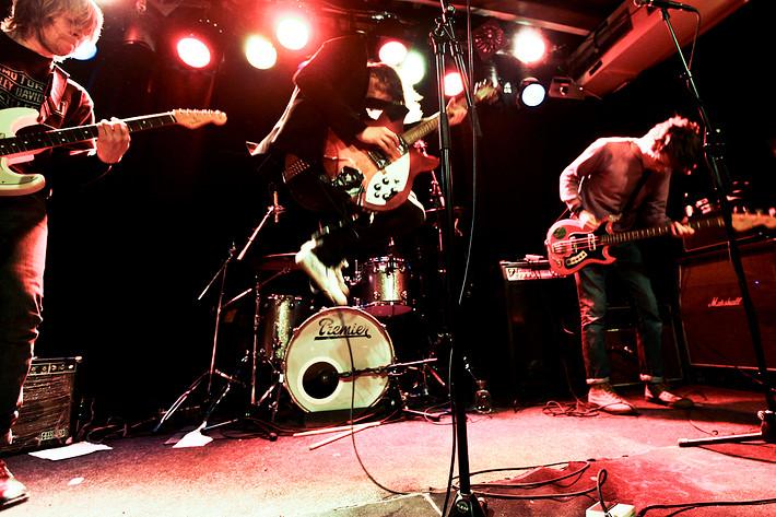 2009-11-21 - Invasionen performs at Guitars, Umeå