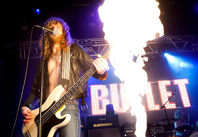 2011-03-11 - Bullet performs at Lisebergshallen, Göteborg