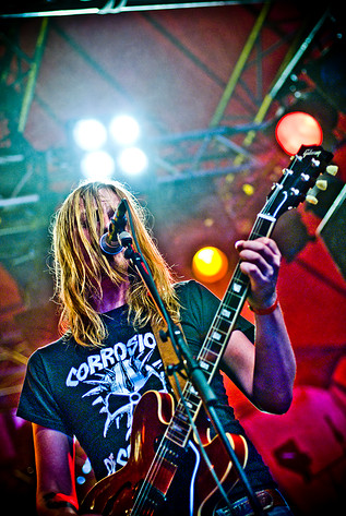 2011-06-17 - Graveyard spelar på Metaltown, Göteborg