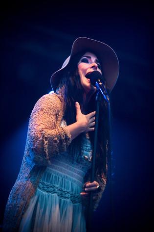 2011-07-02 - Miss Li spelar på Peace & Love, Borlänge