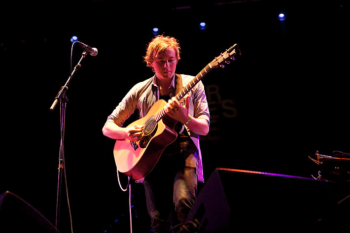 2011-08-25 - Joe Robinson spelar på Skeppsholmen, Stockholm