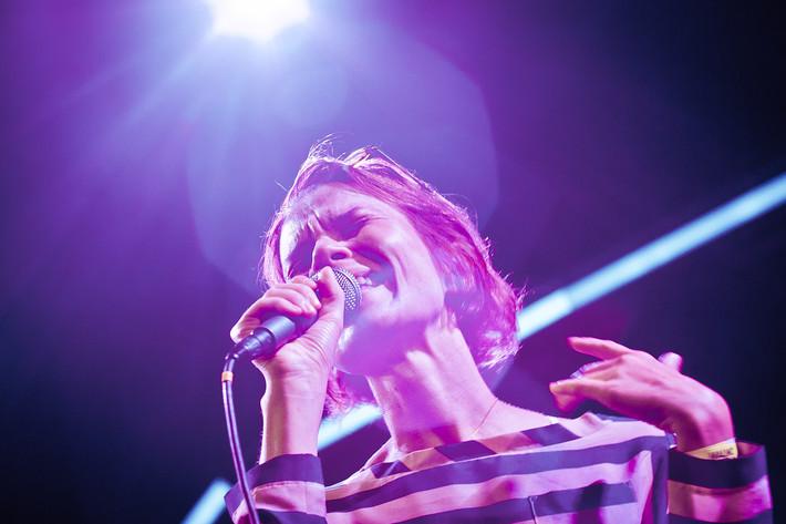2011-08-25 - Anna Järvinen performs at Malmöfestivalen, Malmö