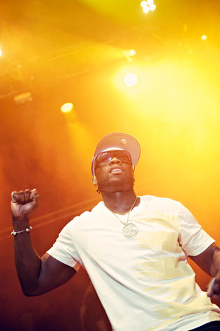 2011-10-28 - 50 Cent performs at Göransson Arena, Sandviken