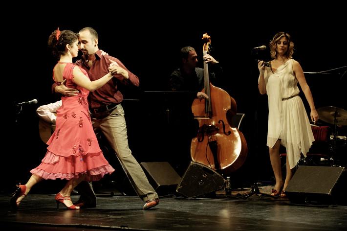 2011-10-29 - İncesaz Tango Project spelar på Södra Teatern, Stockholm