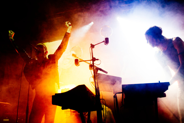 2012-01-27 - Kite performs at Debaser Medis, Stockholm