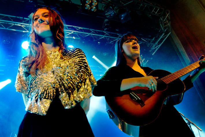 2012-02-04 - First Aid Kit performs at Debaser Medis, Stockholm