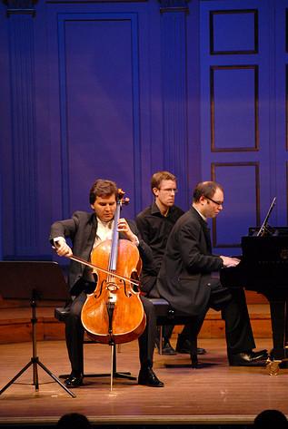2012-03-29 - Alexander Melnikov & Alexander Buzlov performs at Musikaliska, Stockholm