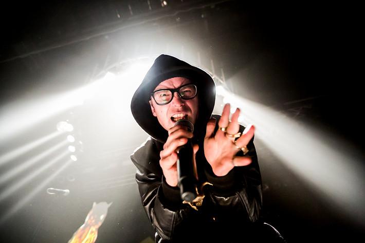 2012-03-31 - Maskinen performs at Umeå Open, Umeå