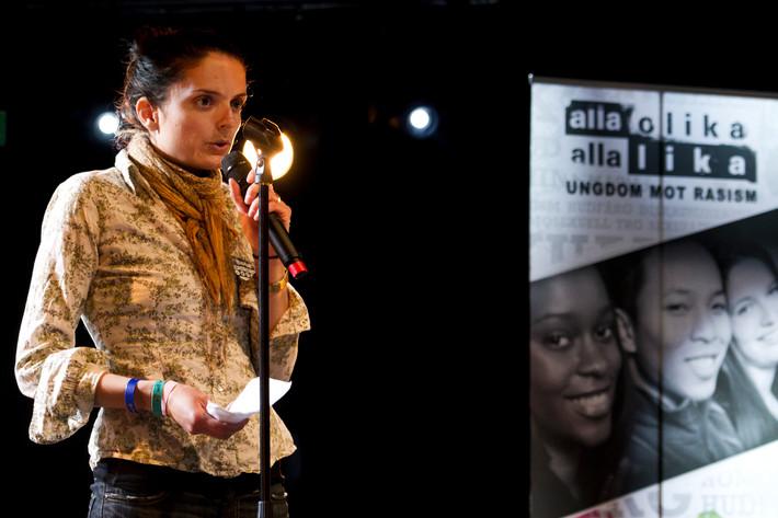 2012-06-26 - Röster mot rasism spelar på Peace & Love, Borlänge