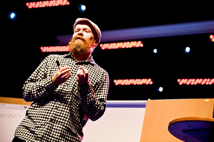 2012-06-29 - Alexander Bard performs at Peace & Love, Borlänge