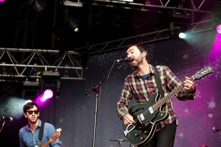 2012-06-30 - The Shins performs at Peace & Love, Borlänge