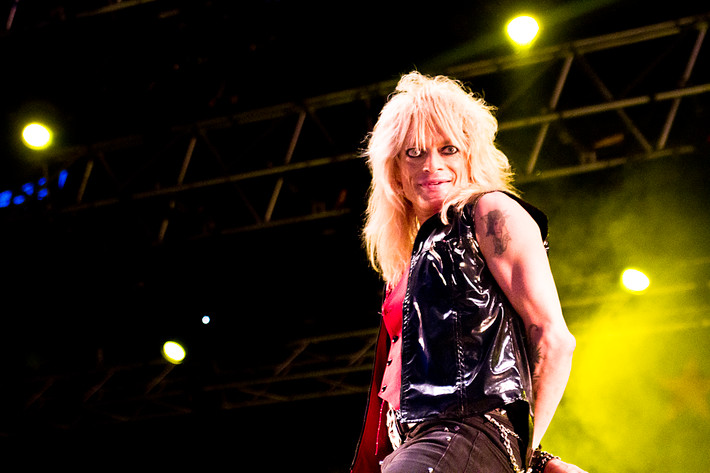 2012-06-30 - Michael Monroe performs at Peace & Love, Borlänge