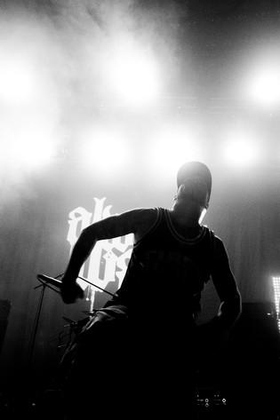 2012-07-07 - Always War spelar på Getaway Rock, Gävle