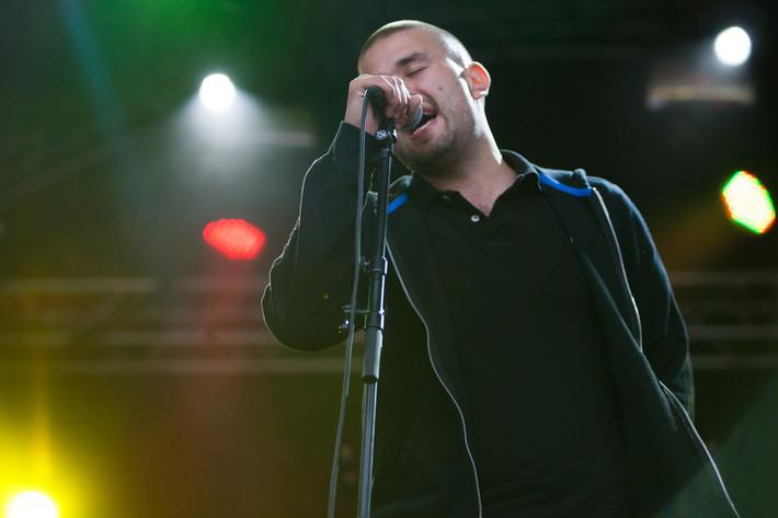 2012-08-21 - Aleks performs at Malmöfestivalen, Malmö