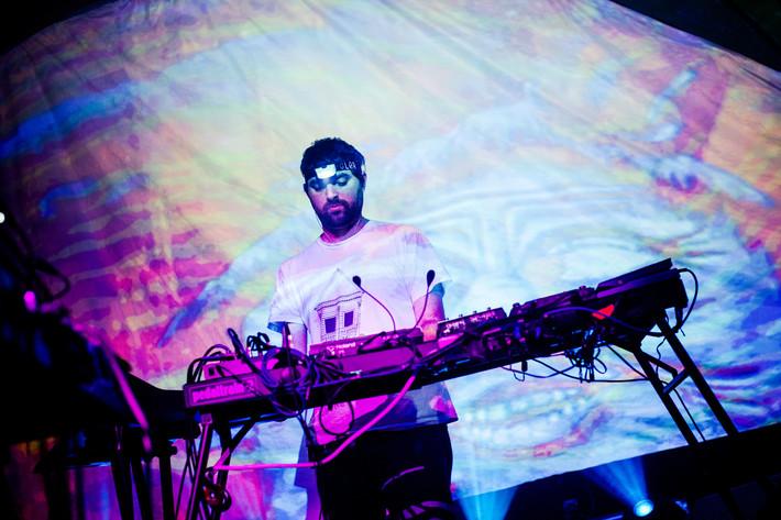 2012-11-16 - Animal Collective spelar på Mejeriet, Lund