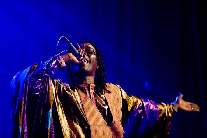 2013-03-23 - Alioune Guissé performs at Delight Studios, Stockholm