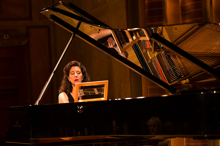 2013-06-17 - Angela Hewitt, Michael Collins, Hugo Ticciati, Torleif Théeden performs at Konserthuset, Stockholm