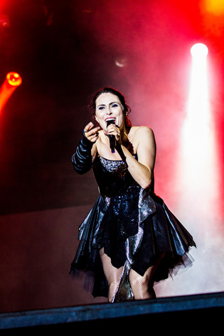 2013-08-10 - Within Temptation performs at Getaway Rock, Gävle
