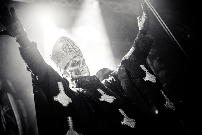 2013-11-25 - Ghost spelar på Mejeriet, Lund