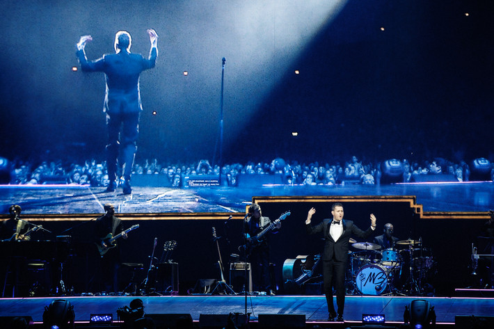 2014-02-23 - Michael Bublé performs at Globen, Stockholm
