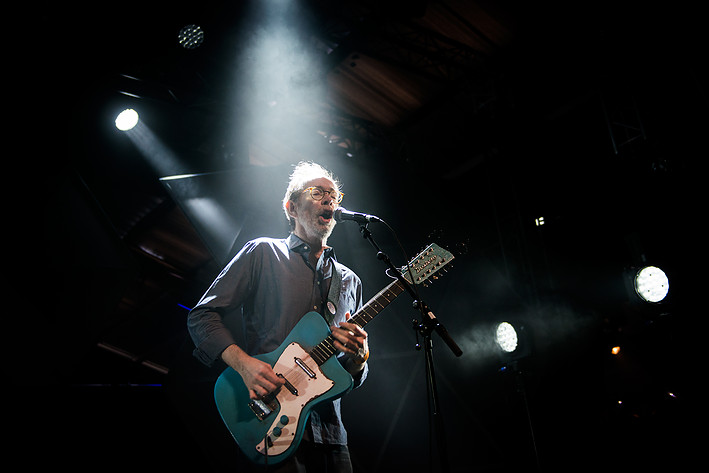 2014-07-05 - Arto Lindsay & Paal Nilssen-Love Duo performs at Roskildefestivalen, Roskilde