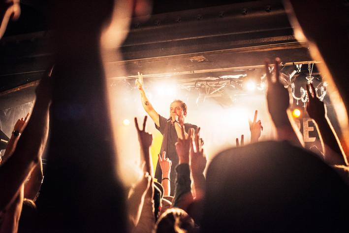 2014-10-20 - Atmosphere performs at Debaser Hornstulls Strand, Stockholm