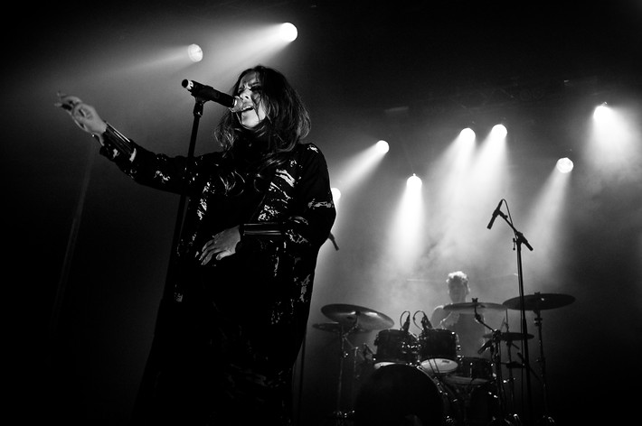 2014-10-24 - Amanda Alexander performs at Rookiefestivalen, Hultsfred