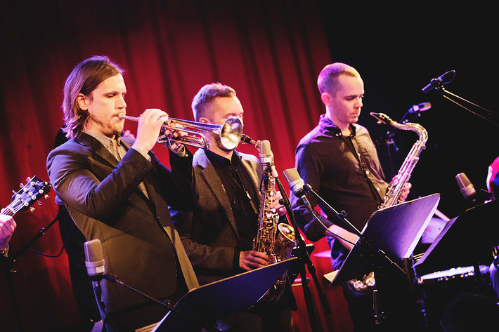2015-01-22 - Stockholm Jazz Underground performs at Fasching, Stockholm
