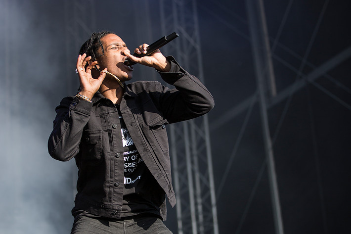 2015-06-25 - A$AP Rocky performs at Bråvalla, Norrköping