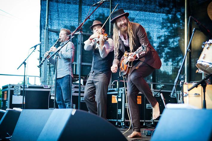 2015-08-08 - Afenginn spelar på Stockholm Folk Festival, Stockholm