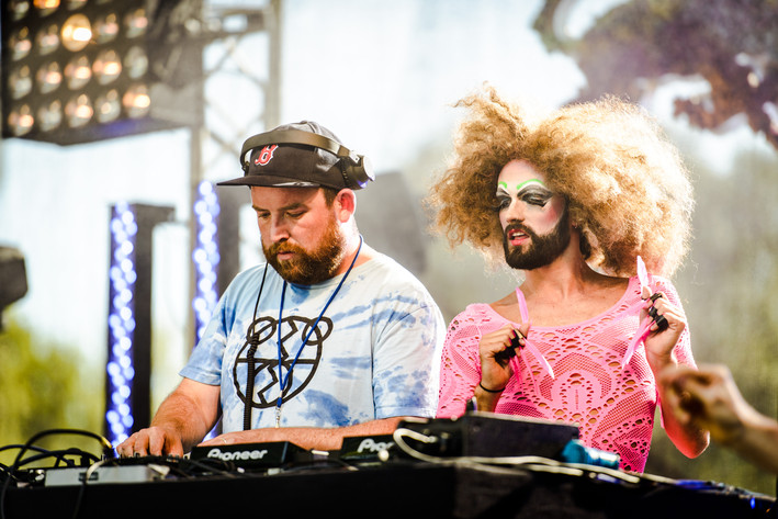 2015-08-13 - The 2 Bears performs at Way Out West, Göteborg