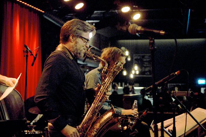 2016-01-25 - Alberto Pinton Noi Siamo performs at Fasching, Stockholm