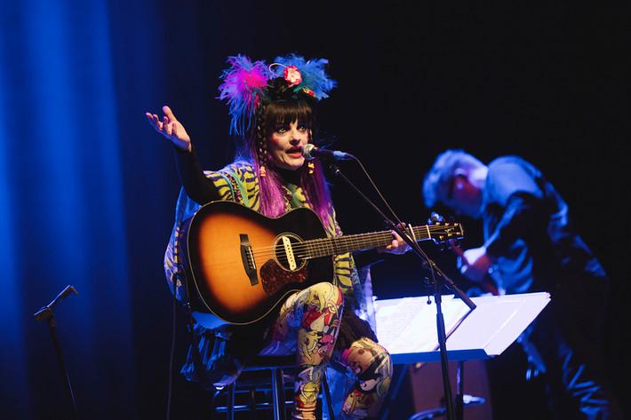 2016-04-24 - Nina Hagen performs at Cirkus, Stockholm
