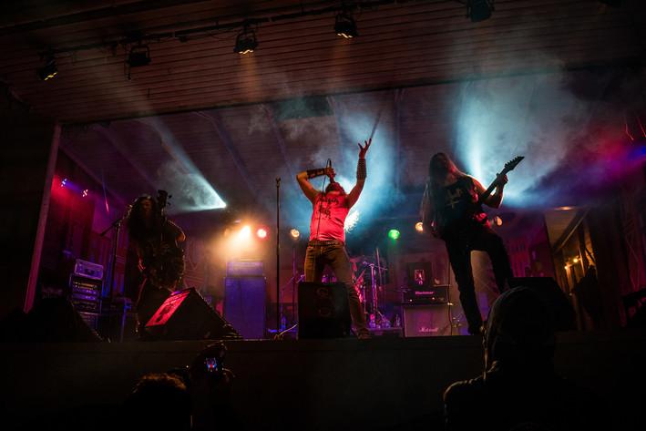 2016-06-05 - Sabbat performs at Muskelrock, Alvesta