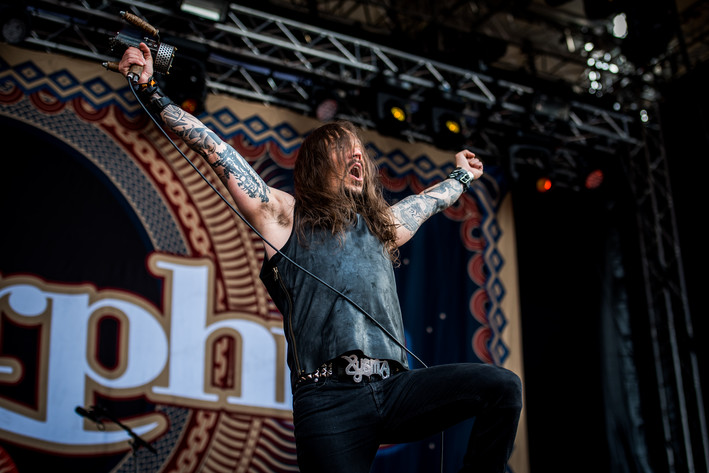 2016-07-15 - Amorphis performs at Gefle Metal Festival, Gävle