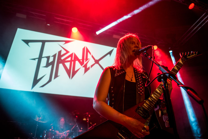 2016-07-15 - Tyranex performs at Gefle Metal Festival, Gävle