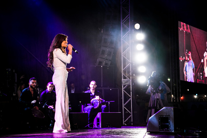 2016-08-20 - Najwa Karam spelar på Göteborgs Kulturkalas, Göteborg