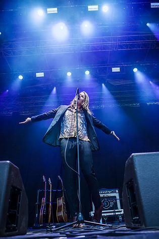 2016-08-26 - Markus Krunegård performs at Popaganda, Stockholm