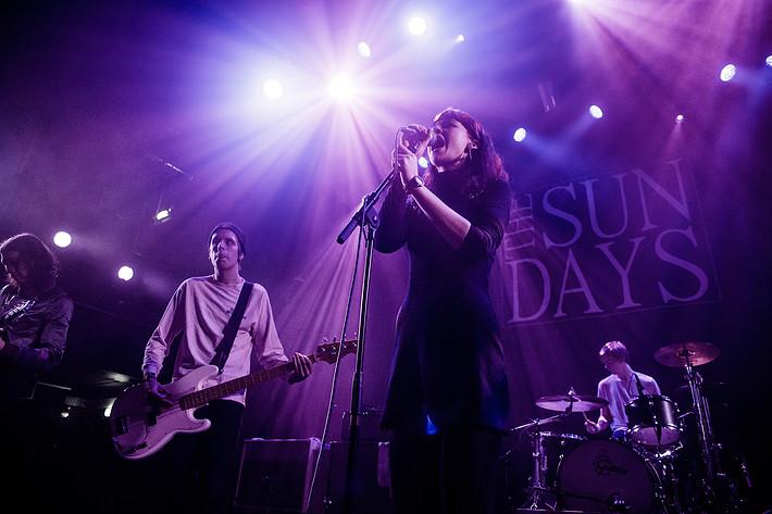 2017-01-21 - The Sun Days spelar på Pustervik, Göteborg