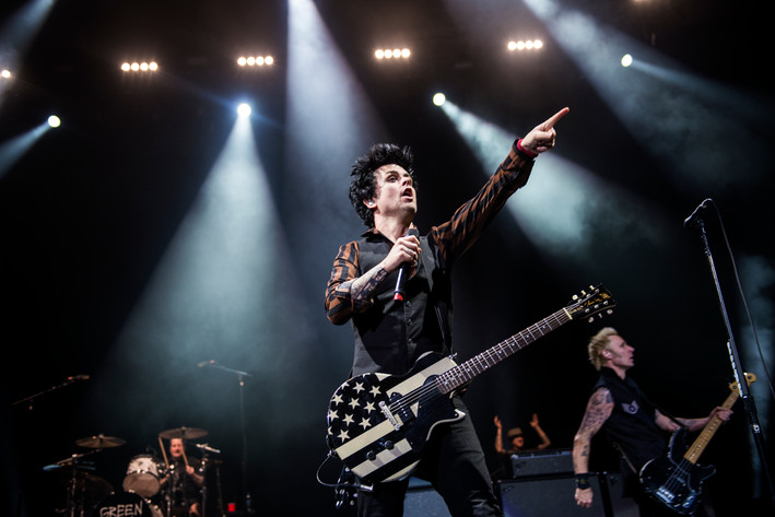 2017-01-27 - Green Day performs at Globen, Stockholm